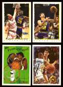 1994-95 Topps Basketball Team Set - Utah Jazz