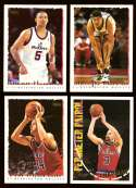 1994-95 Topps Basketball Team Set - Washington Bullets