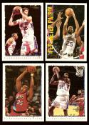 1994-95 Topps Basketball Team Set - Philadelphia 76ers