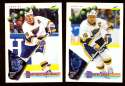 1994-95 Score Hockey Team Set - St. Louis Blues