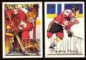 1995-96 Topps Hockey Team Set - Calgary Flames
