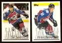 1995-96 Topps Hockey Team Set - Colorado Avalanche