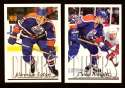 1995-96 Topps Hockey Team Set - Edmonton Oilers