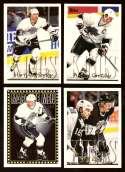 1995-96 Topps Hockey Team Set - Los Angeles Kings