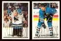 1995-96 Topps Hockey Team Set - San Jose Sharks