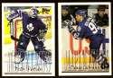 1995-96 Topps Hockey Team Set - Toronto Maple Leafs