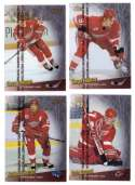 1998-99 Finest Hockey Team Set - Detroit Red Wings