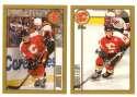1998-99 Topps Hockey Team Set - Calgary Flames