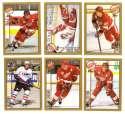 1998-99 Topps Hockey Team Set - Detroit Red Wings