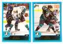 2001-02 Topps Hockey (1-330) Team Set - Anaheim Mighty Ducks