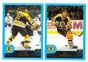 2001-02 Topps Hockey (1-330) Team Set - Boston Bruins