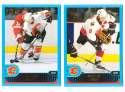 2001-02 Topps Hockey (1-330) Team Set - Calgary Flames