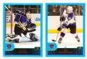 2001-02 Topps Hockey (1-330) Team Set - Los Angeles Kings