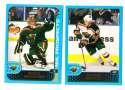 2001-02 Topps Hockey (1-330) Team Set - Minnesota Wild