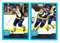 2001-02 Topps Hockey (1-330) Team Set - Nashville Predators