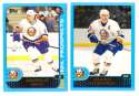 2001-02 Topps Hockey (1-330) Team Set - New York Islanders