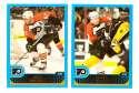 2001-02 Topps Hockey (1-330) Team Set - Philadelphia Flyers