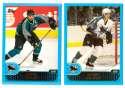 2001-02 Topps Hockey (1-330) Team Set - San Jose Sharks
