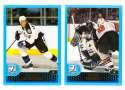 2001-02 Topps Hockey (1-330) Team Set - Tampa Bay Lightning