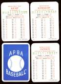 2011 APBA Season - LOS ANGELES DODGERS Team Set
