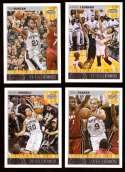 2013-14 Hoops Basketball Team Set - San Antonio Spurs