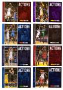 2013-14 Hoops Action Shots Basketball 25 Card Insert Set