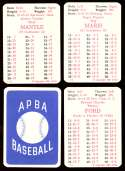1964 APBA (Reprint) Season - NEW YORK YANKEES Team Set