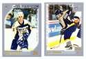 2000-01 Topps Hockey Team Set - Nashville Predators