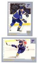 2000-01 Topps Hockey Team Set - St. Louis Blues