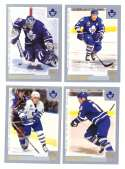 2000-01 Topps Hockey Team Set - Toronto Maple Leafs