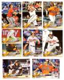 2018 Topps Opening Day - BALTIMORE ORIOLES Team Set
