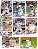 2018 Topps Opening Day - NEW YORK YANKEES Team Set