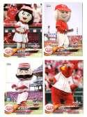 2018 Topps Opening Day Mascots - CINCINNATI REDS