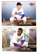 2018 Topps Opening Day Before Opening Day - LOS ANGELES DODGERS