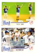 2018 Topps Opening Day Team Traditions & Celebrations - NEW YORK YANKEES