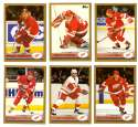 1999-00 Topps Hockey Team Set - Detroit Red Wings