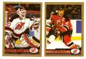 1999-00 Topps Hockey Team Set - New Jersey Devils
