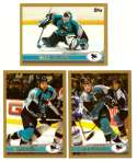 1999-00 Topps Hockey Team Set - San Jose Sharks
