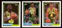 1992-93 Topps Basketball Team Set - Seattle Supersonics