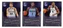 2012-13 Panini Brilliance Basketball Team Set - Memphis Grizzlies