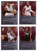 2012-13 Panini Brilliance Basketball Team Set - Miami Heat