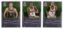 2012-13 Panini Brilliance Basketball Team Set - Milwaukee Bucks