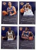 2012-13 Panini Brilliance Basketball Team Set - New York Knicks