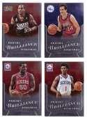 2012-13 Panini Brilliance Basketball Team Set - Philadelphia 76ers