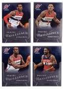 2012-13 Panini Brilliance Basketball Team Set - Washington Wizards