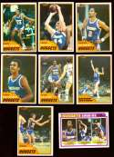 1981-82 Topps Basketball Team Set (EX+ Conditon) - Denver Nuggets