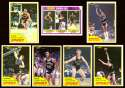1981-82 Topps Basketball Team Set - San Antonio Spurs