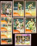 1981-82 Topps Basketball Team Set - Seattle Supersonics