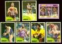 1981-82 Topps Basketball Team Set (EX Conditon) - Utah Jazz