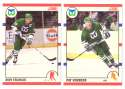 1990-91 Score Canadian Hockey Team Set - Hartford Whalers